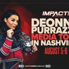 Deonna Purrazzo apporte le championnat IMPACT Wrestling Knockouts à Nashville, les 5 et 6 août – IMPACT Wrestling