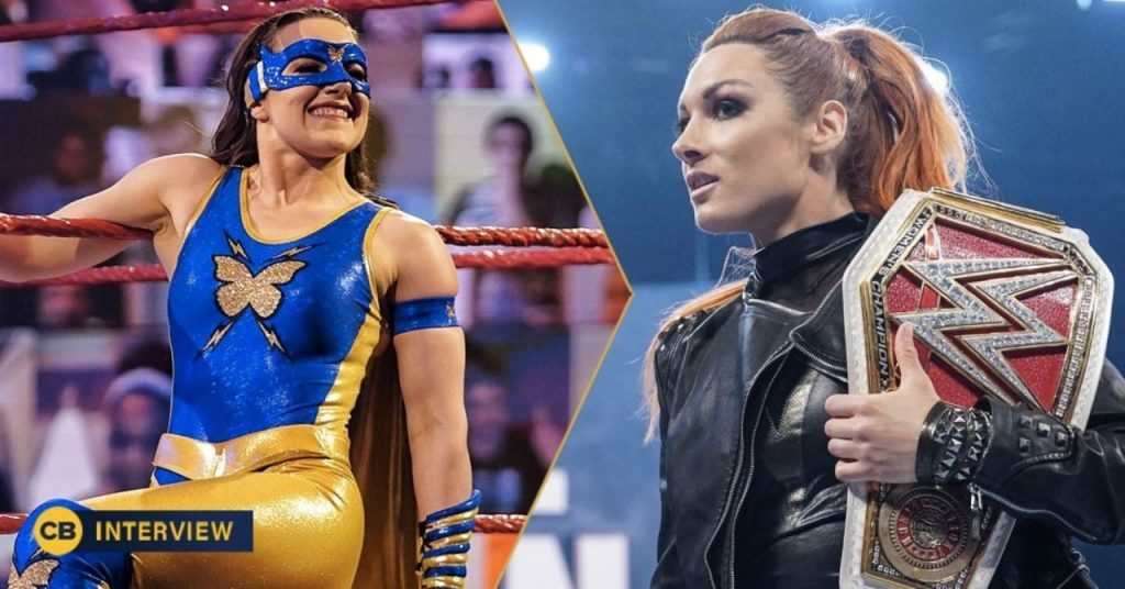 Nikki ASH de la WWE aimerait affronter Becky Lynch pour le championnat féminin de Raw