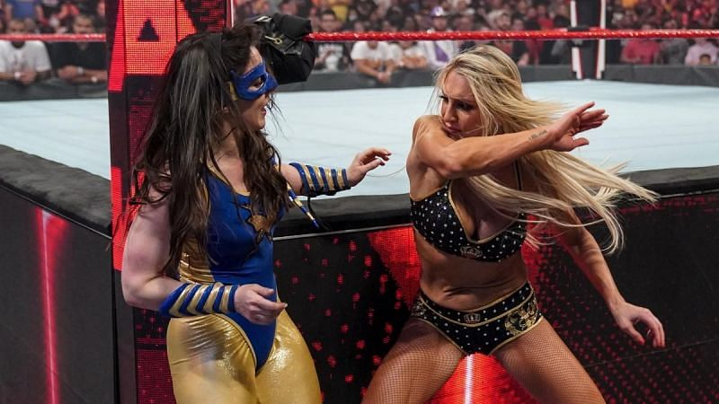 Nikki A.S.H. faced Charlotte Flair on WWE RAW this week