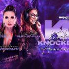 Détails sur le prochain événement IMPACT Knockouts Knockdown le 9 octobre -