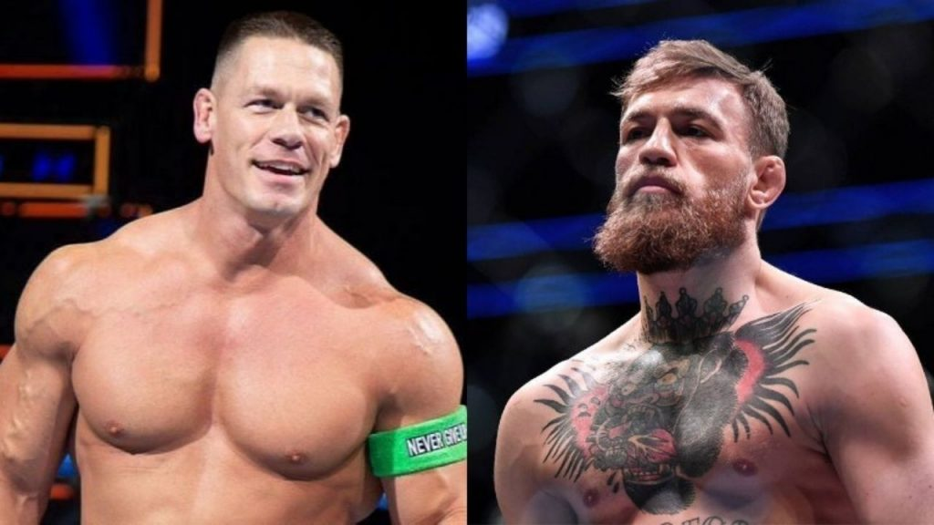 John Cena says says he wants to see Conor McGregor in WWE