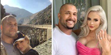 Karrion Kross et Scarlett Bordeaux de la WWE annoncent leurs fiançailles