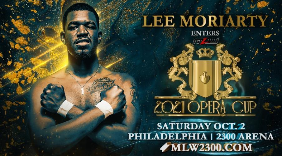 Le lutteur AEW Lee Moriarty ajouté au tournoi MLW Opera Cup