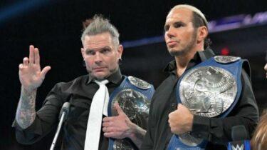 Matt Hardy d'AEW trolls les fans en taquinant une réunion avec Jeff Hardy