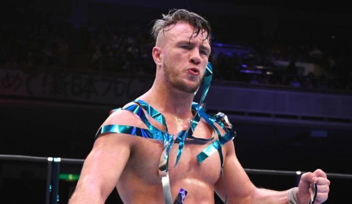 Will Ospreay remplace Jon Moxley lors du prochain événement NJPW