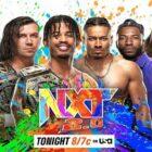 Résultats NXT - 5 octobre 2021