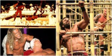 5 matchs WWE Gimmick rarement utilisés que nous voulons voir plus (et 5 que nous n'avons pas)