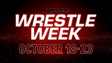AXS TV et IMPACT Wrestling sont voués à la gloire en octobre, offrant une semaine de lutte pleine d'action à partir du lundi 18 octobre – IMPACT Wrestling
