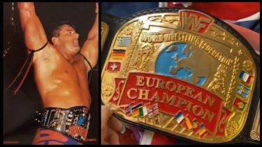 The British Bulldog held the European Championship