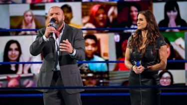 Triple H and Stephanie McMahon haven't wrestled as a team since 2018