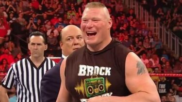 Brock Lesnar and Kurt Angle have had a storied past in WWE