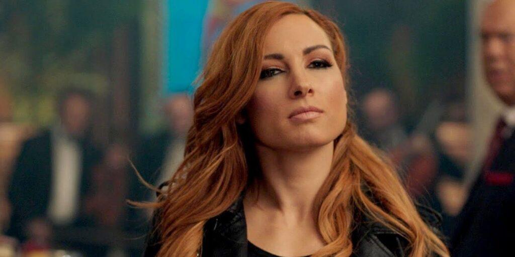 Becky Lynch n'était sûre qu'à 60% qu'elle reviendrait à la WWE