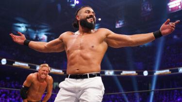 Andrade après le combat du Main Event avec PAC : 'Fu… WWE !!!!!'