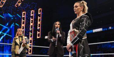 Andrade appelle la WWE après que Charlotte Flair et Becky Lynch se sont affrontés dans les coulisses