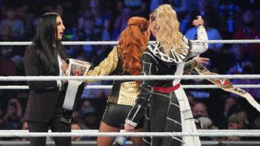La WWE édite l'échange de titres Charlotte-Becky Lynch sur SmackDown Encore
