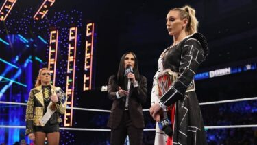 Charlotte Flair and Becky Lynch reportedly had a backstage confrontation