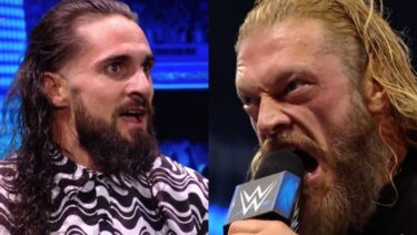 Seth Rollins was visibly shocked after hearing Edge's response