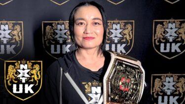 Jinny lance un défi à Meiko Satomura pour le titre féminin NXT UK