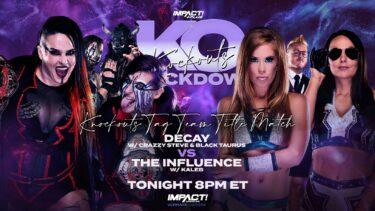 Knockouts Knockdown sur IMPACT Plus Preview – IMPACT Wrestling