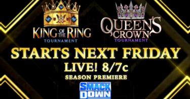 La WWE annonce les premiers concurrents des tournois King of the Ring et Queen's Crown