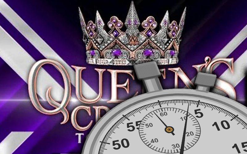 Les matchs du tournoi WWE Queen's Crown sont ridiculement courts à RAW
