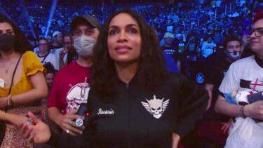 Malakai Black fait l'éloge de Rosario Dawson pour son apparition à AEW
