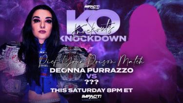 Mickie James choisit Poison de Deonna Purrazzo, Monster's Ball en l'honneur de Daffney Official for Knockouts Knockdown – IMPACT Wrestling