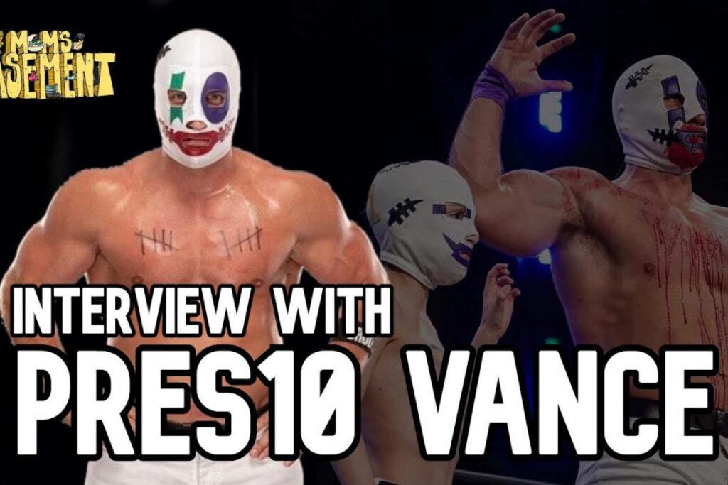 Preston Vance nomme John Cena comme une source d'inspiration pour lui et cite WrestleMania X-8 comme un tournant