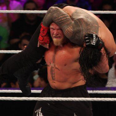 Quelle est la prochaine étape pour Brock Lesnar et Goldberg après les résultats de WWE Crown Jewel 2021?     Rapport du blanchisseur