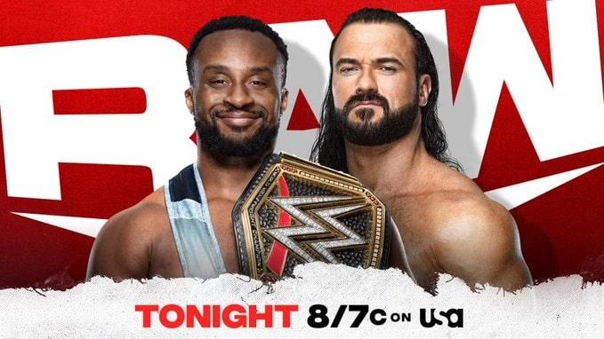 Résultats bruts de la WWE – 11/10/21 (Roi de l'Anneau, Tournoi de la Couronne de la Reine) -